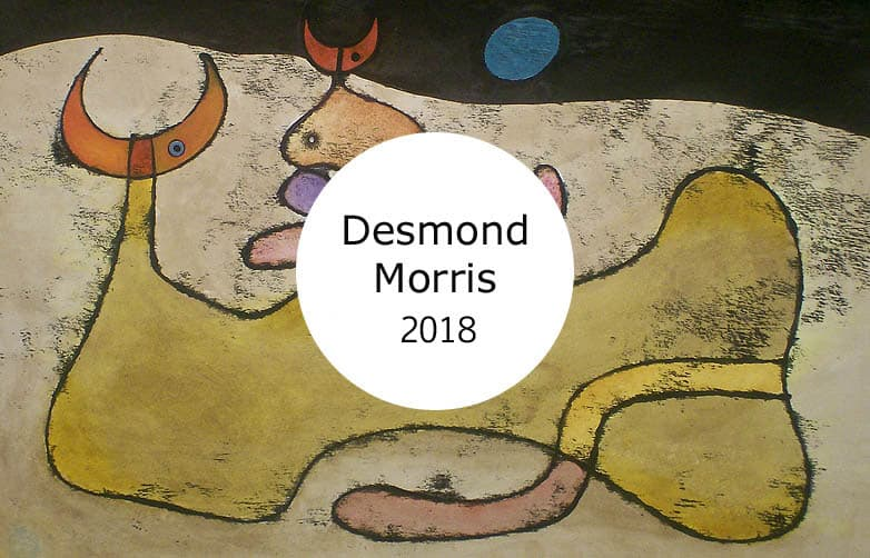 Desmond Morris at The O3 Gallery Oxford
